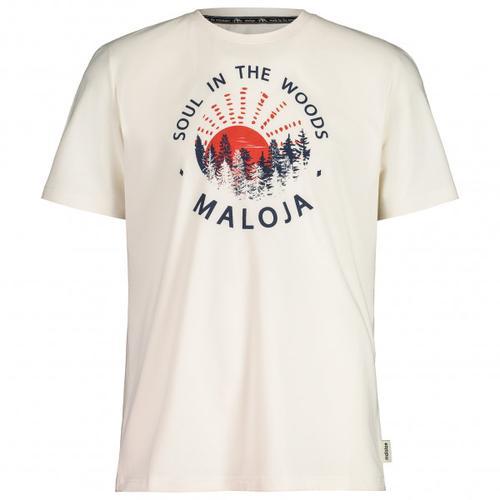 Maloja - HeckenkirscheM. - T-Shirt Gr L weiß
