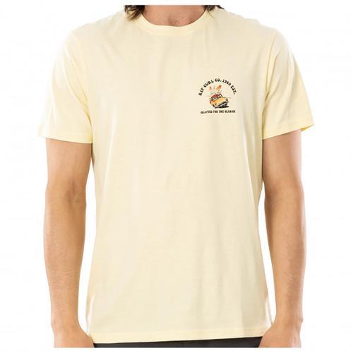 Rip Curl - Endless Search Tee - T-Shirt Gr M weiß/beige