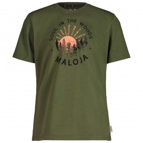 Maloja - HeckenkirscheM. - T-Shirt Gr S oliv
