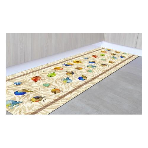 Läufer-Teppich: Pflanzen/ 50 x 300 cm