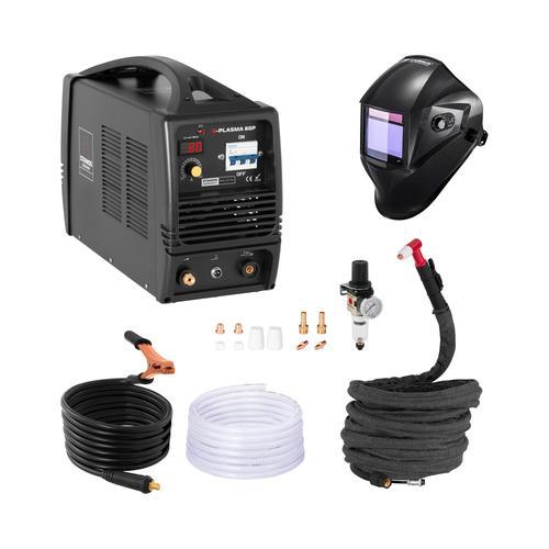 Stamos Pro Series Schweißset Plasmaschneider - 80 A - 400 V + Schweißhelm – Carbonic