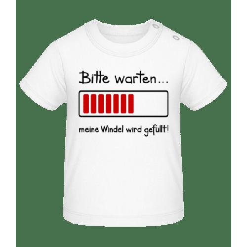 Meine Windel Wird Gefüllt! - Baby T-Shirt