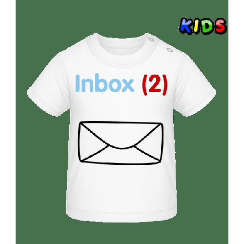 Inbox(2) Zwillinge - Baby T-Shirt