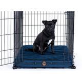 Gorilla Dog Beds Dura-Vel Orthopedic Dog Crate Pad, Navy , Small