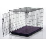 Gorilla Dog Beds Dura-Vel Orthopedic Dog Crate Pad, Purple, Small