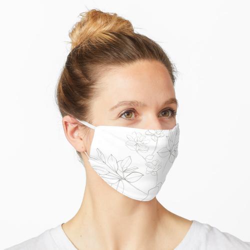 Romantisches Weiß Maske