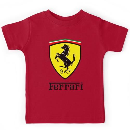 Ferrari-Symbol Kinderbekleidung