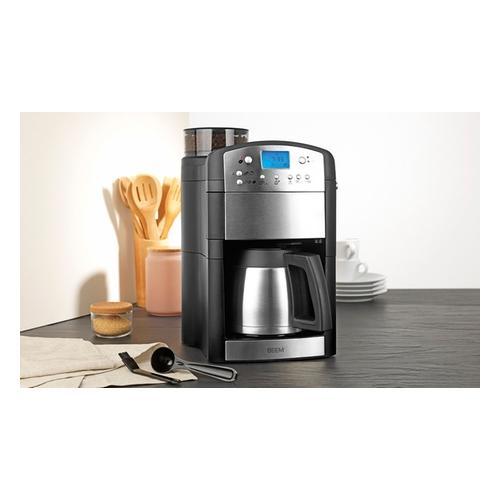 Beem Edelstahl-Kaffeemaschine mit integriertem Mahlwerk
