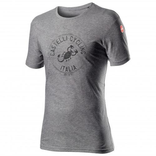 Castelli - Armando T-Shirt Gr XXL grau