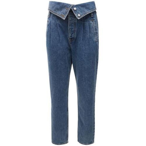 Re/done 80er Jahre-foldover-jeans