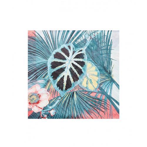 Liu Jo Damen Foulard Tropica Pink