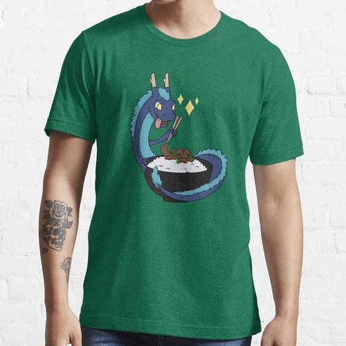 Bulgogi Drache blau Essential T-Shirt