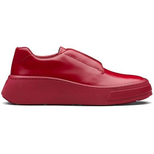 Prada Derby-Schuhe mit eckiger Kappe