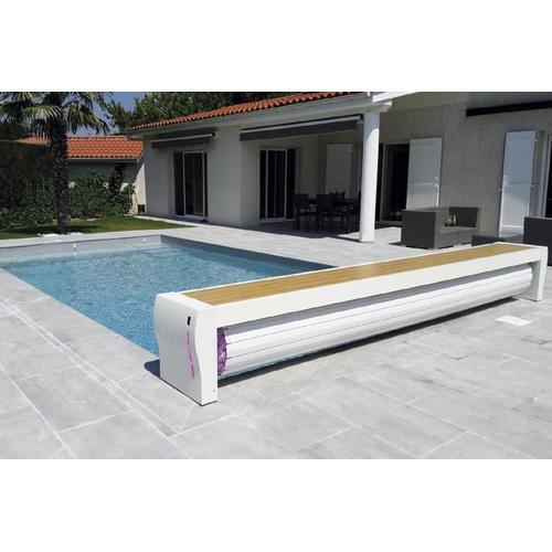 Pool Rolladen-Abdeckung