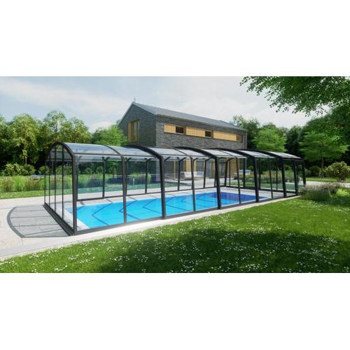 Schwimmhalle SkyCover® Royal Clear 4.5x8.5m