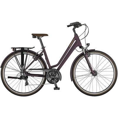 SCOTT Sub Comfort 20 Trekkingrad Damen in bordeaux-havana-black, Größe M