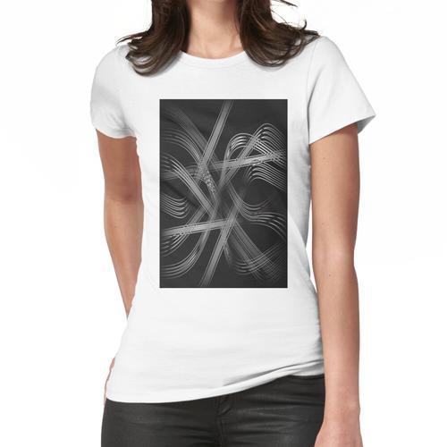 Kristallschnüre Frauen T-Shirt