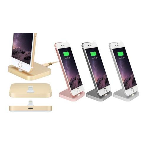 Dockingstation für iPhones: Gold