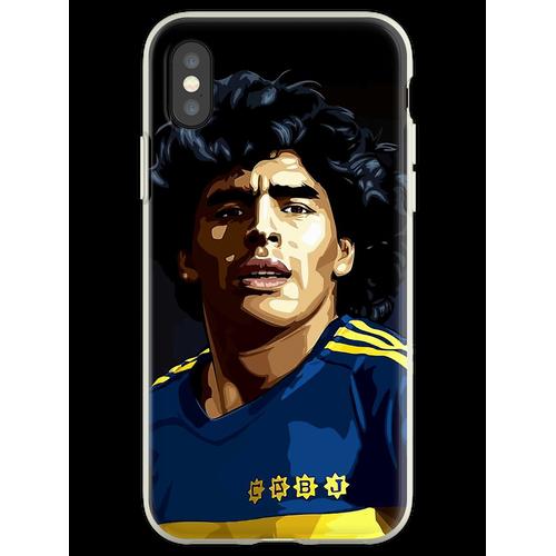 Maradona Maradona Maradona Maradona Maradona Maradona Maradona Maradona Flexible Hülle für iPhone XS