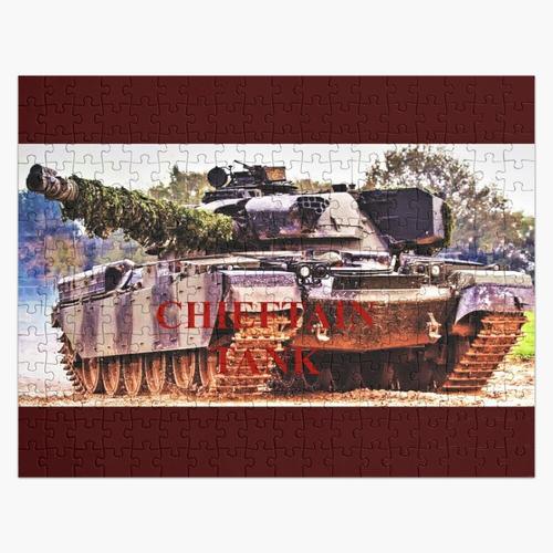 Häuptling Kampfpanzer Puzzle