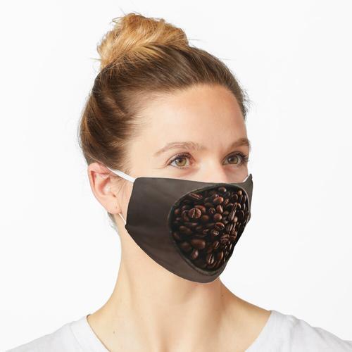 Kaffeebohnen Maske