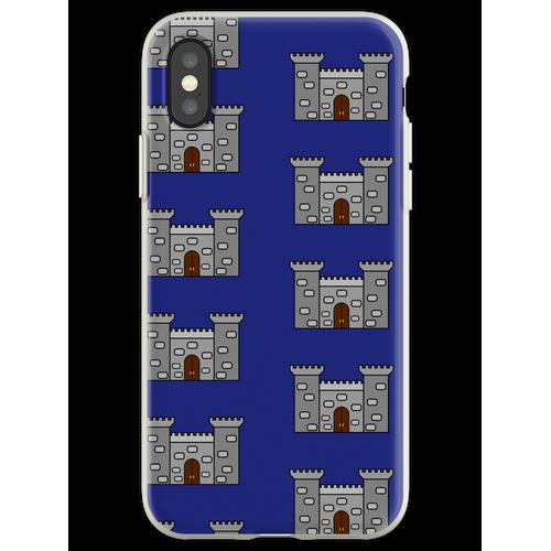 Einfaches Schloss Flexible Hülle für iPhone XS