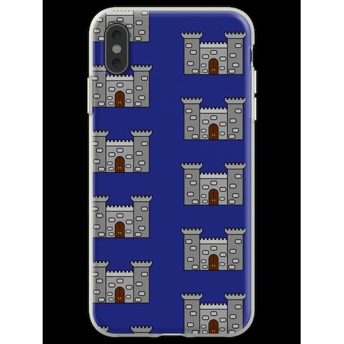 Einfaches Schloss Flexible Hülle für iPhone XS Max