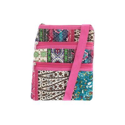 Unbranded - Crossbody Bag: Pink Color Block Bags