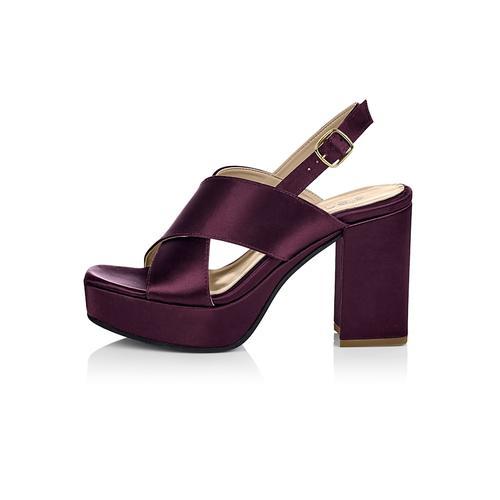 Sandalette SIENNA Aubergine