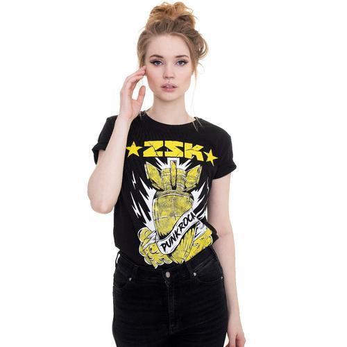 ZSK - Punkrock Bomb - - T-Shirts