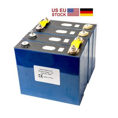 Lot de 4 batteries Lifepo4 de Gr...