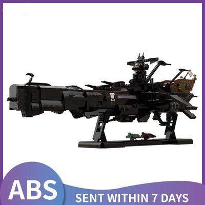 Blocs de construction de bateau Pirate star Space, modèle de chasseur, capitaine harlock Albatorss,