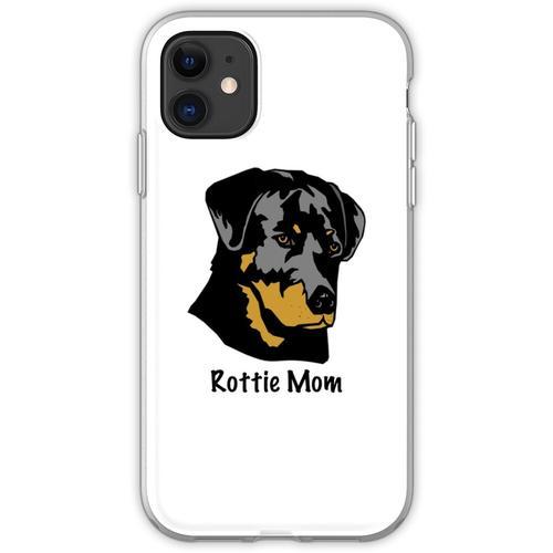 Rottweiler Mom - Rottweiler Geschenk - Rottweiler Shirt - Rottweiler Ge Flexible Hülle für iPhone 11