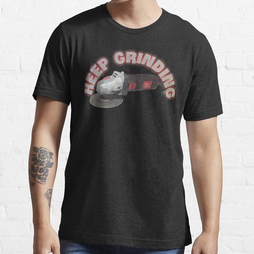 Schleifwinkelschleifer halten Essential T-Shirt