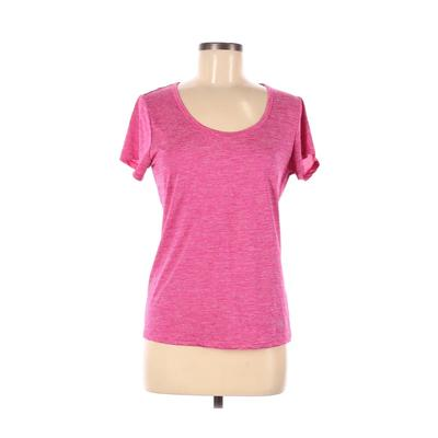 Bally Total Fitness Active T-Shirt: Pink Activewear - Size Medium