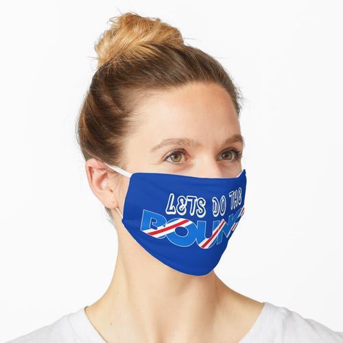 Lasst uns alle die Hüpfburg machen! Maske