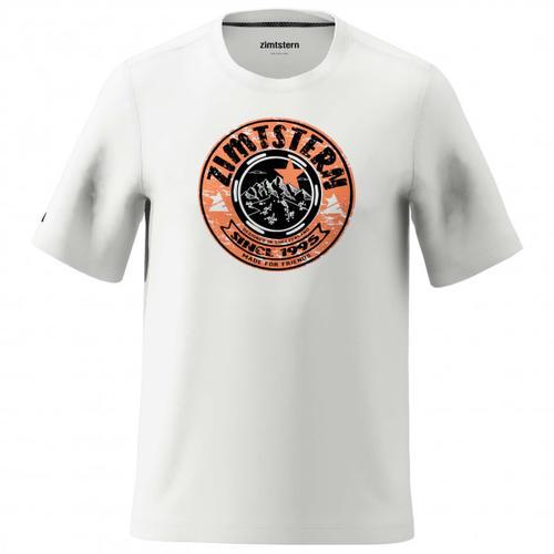 Zimtstern - Bullz Tee - T-Shirt Gr M grau/weiß