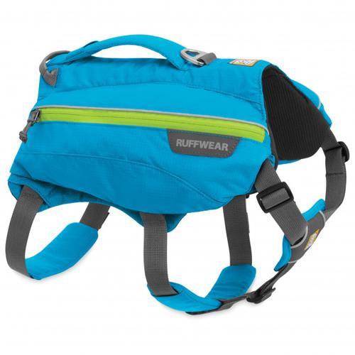 Ruffwear - Singletrak Pack - Hundegeschirr Gr M blau