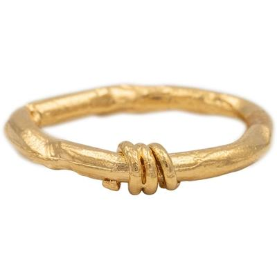 Alighieri Bague The Trembling Bough en or vermeil 24 ct
