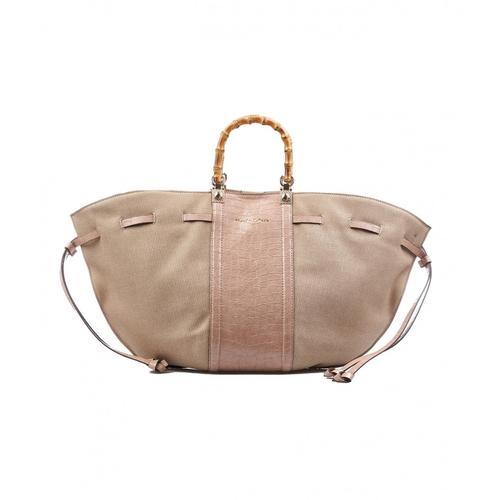 Manila Grace Damen Tote Bag Rosa