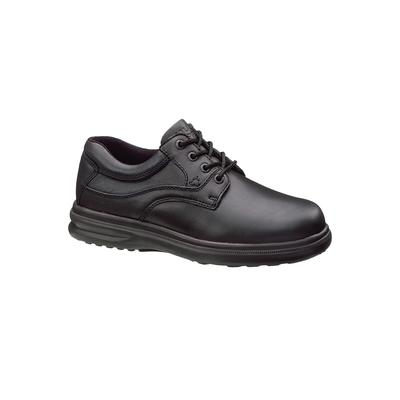 Wide Width Men's Hush Puppies Glen Plain Toe Lace-Up Casual Shoes by Hush Puppies in Black (Size 8 1/2 W)