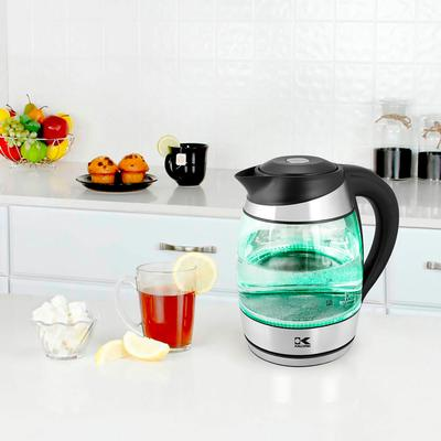 Kalorik Glass Digital Kettle by Kalorik in Clear