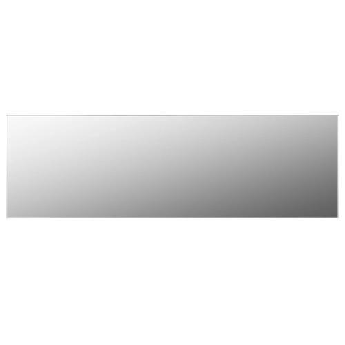 vidaXL Rahmenloser Spiegel 150x50 cm Glas