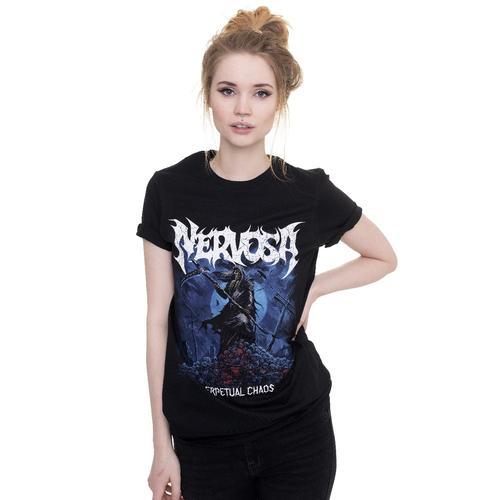 Nervosa - Perpetual Chaos - - T-Shirts