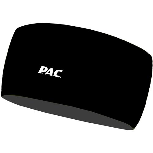 P.A.C. Ocean Upcycling Stirnband in total black, Größe L/XL
