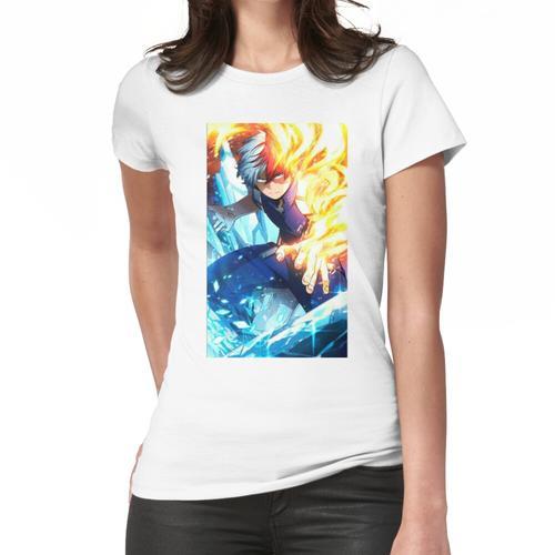 HALBES FEUER HALBES EIS Frauen T-Shirt