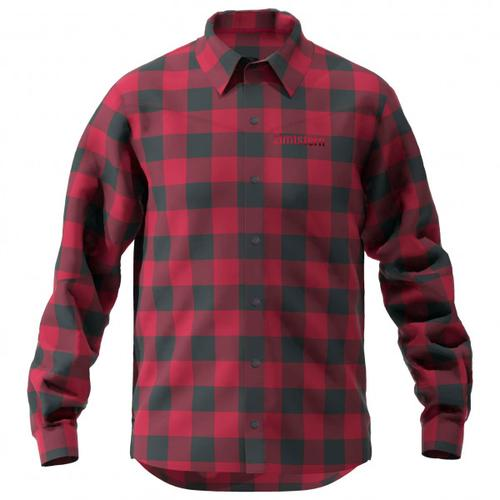 Zimtstern - Timbaz Shirt - Hemd Gr S rot/schwarz/lila/rosa