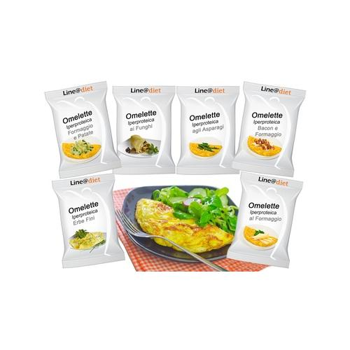 Protein-Omelett: Käse / 10