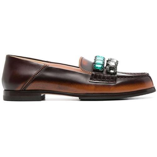 N°21 Loafer mit Kristallen