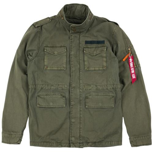 Alpha Industries Huntington Jacke, grün, Größe XS